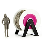 EUMAKERS PLA Filament Smoked Grey 2.85mm (3.00mm) - Made in Italy 1kg