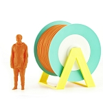 EUMAKERS PLA Filament Orange 2.85mm (3.00mm) - Made in Italy 1kg