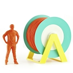 EUMAKERS PLA Filament Dark Orange 2.85mm (3.00mm) - Made in Italy 1kg
