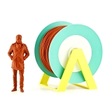 EUMAKERS PLA Filament Orange Brick 2.85mm (3.00mm) - Made in Italy 1kg