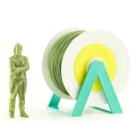 EUMAKERS PLA Filament Petroleum Green 1.75mm - Made in Italy 1kg
