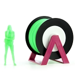 EUMAKERS PLA Filament Fluorescent Green 1.75mm - Made in Italy 1kg