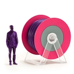 EUMAKERS PLA Filament Glossy Violet 1.75mm - Made in Italy 1kg