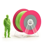 EUMAKERS PLA Filament Glossy Green 1.75mm - Made in Italy 1kg