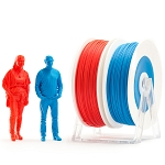 EUMAKERS PLA Filament Red & Blue 2.85mm (3.00mm) - Made in Italy 1kg