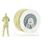 EUMAKERS PLA Filament Dark Sand Yellow Metallic 2.85mm (3.0mm) - Made in Italy 1kg