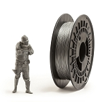 EUMAKERS Filament TPU Flex Silver 1.75mm - Made in Italy 500g