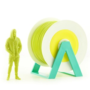 EUMAKERS PLA Filament Acid Green 2.85mm (3.00mm) - Made in Italy 1kg