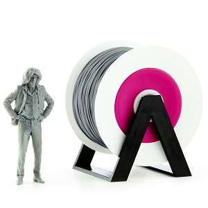 EUMAKERS PLA Filament Grey 1.75mm - Made in Italy 1kg