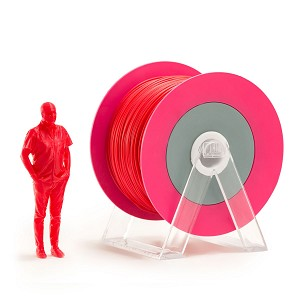 EUMAKERS PLA Filament Glossy Red 1.75mm - Made in Italy 1kg