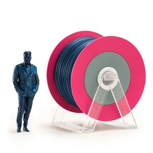 EUMAKERS PLA Filament Glossy Blue 2.85mm (3.0mm) - Made in Italy 1kg