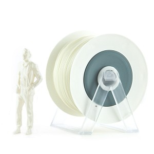 EUMAKERS PLA Filament Pearl White 1.75mm - Made in Italy 1kg