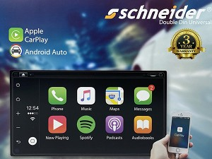 "Schneider 6.8"" DVD Apple CarPlay & Android Auto System"